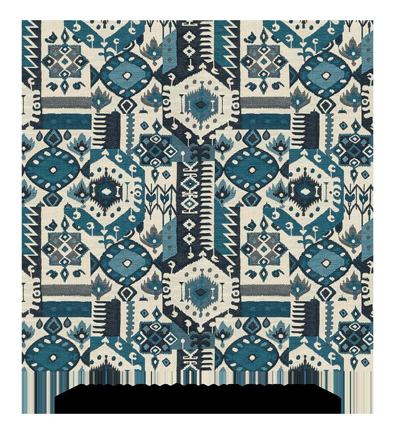 Yavapai, Blue Pyrite, S. Harris, Fabrics, Swatches, S. Harris Fabric