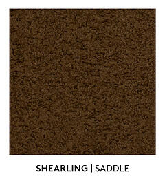 Shearling, Saddle, S. Harris, Fabric, Fall Palette, Textured Blog