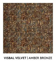 Visbal Velvet, Amber Bronze, S. Harris, Fabric, Fall Palette, Textured Blog
