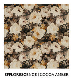 Efflorescence, Cocoa Amber, S. Harris, Fabric, Fall Palette, Textured Blog