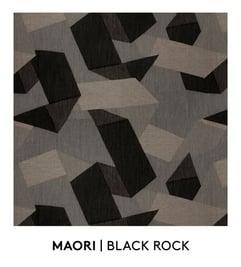 Maori, Black Rock, S. Harris, Fabric, Fall Palette, Textured Blog