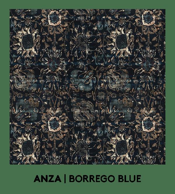 s. harris, fabrics, s. harris fabrics, Anza, Borrego Blue