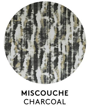 Miscouche, Charcoal, S. Harris, Fabric, Interiors, Interior Design, Fabrics